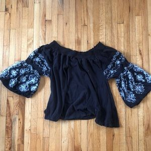 Free people off the shoulder top